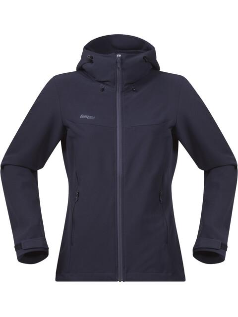 Bergans W's Ramberg Softshell Jacket Dark Navy/Night Blue